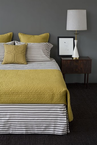 bedrooms grey gold olive